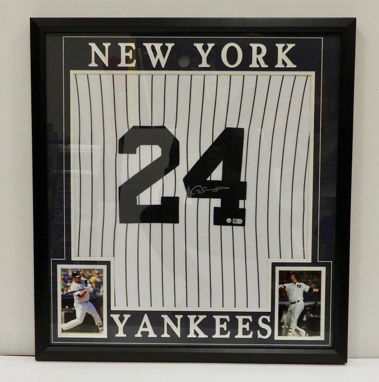 371cf332274 GARY SANCHEZ Signed NY Yankees Home Jersey Custom Framed Steiner + MLB  Certified